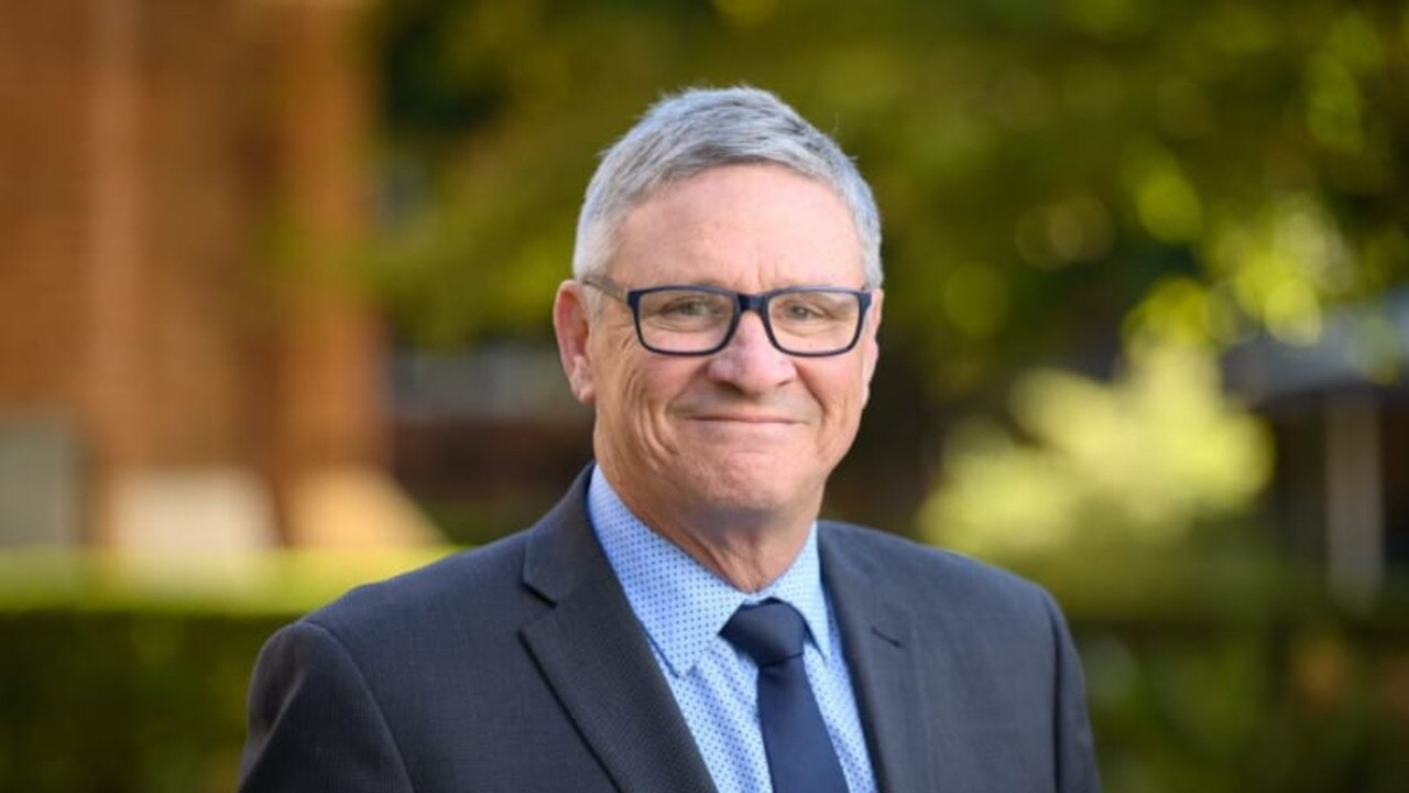 Brisbane Grammar School acting headmaster David Carroll.