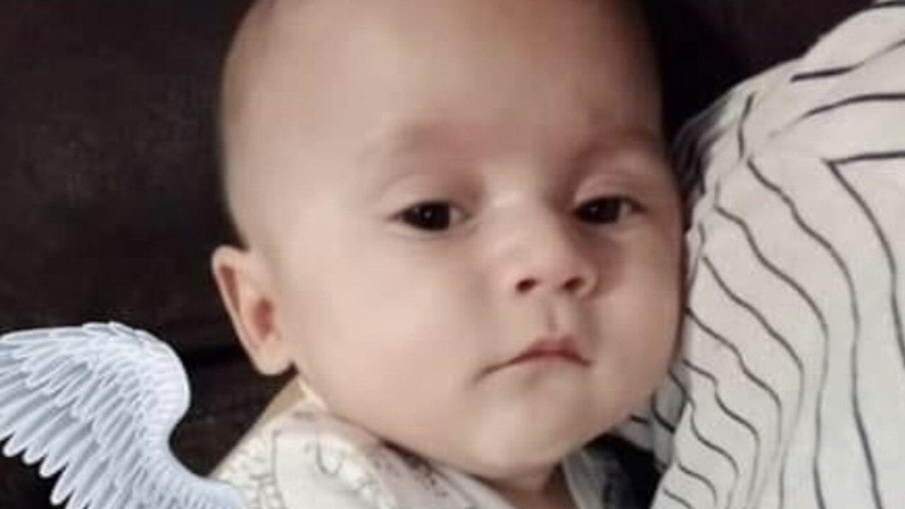 Evander Wilson appeared before Mildura Magistrates' Court on Friday over the death of infant son Jakobi on April 11.