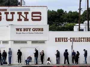 Americans buy up guns and shelters to prepare for civil war