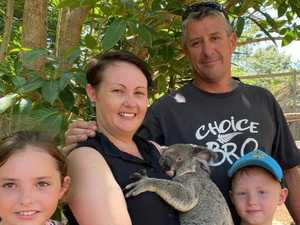 Gympie family pack up for adventure in caravan of courage