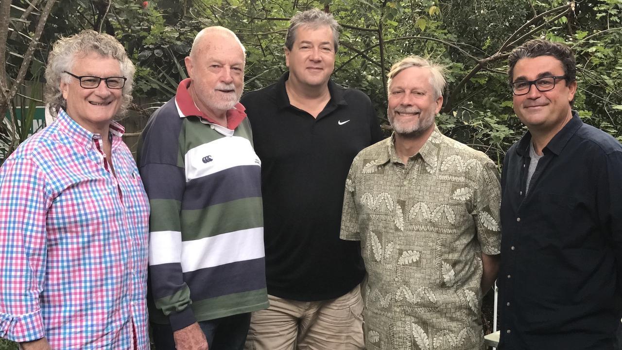 Cr Tom Wegener, second right, joins the Noosa Biosphere Reserve Foundation.lr