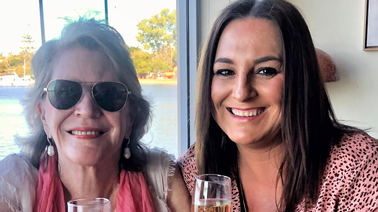 BEST MATES: Suzi O'Connor and Donna Maahs share the finest champagne as well as lashings of friendship,