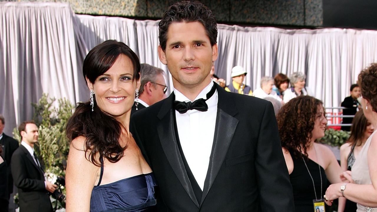 Rebecca and Eric at the Oscars in 2006. Picture: Getty