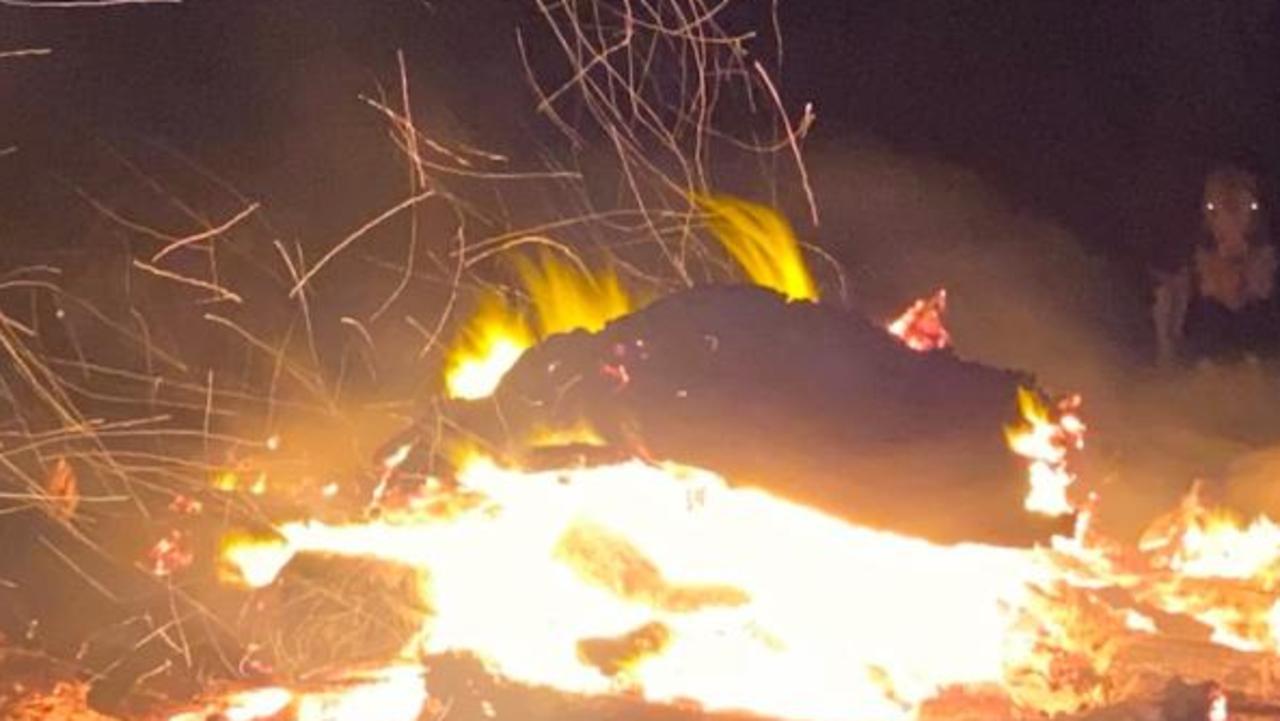 Bonfire pic: supplied