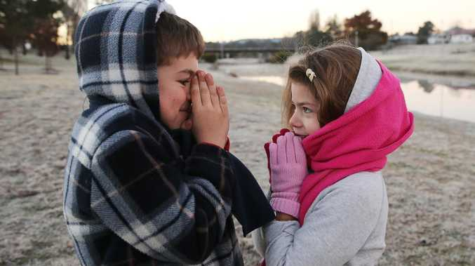 Mercury plunges to frosty minus 1.4C across Queensland