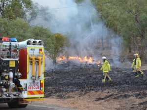 Controlled burn underway in Gayndah
