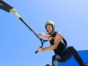 WATCH: Nitro Circus star rapt with Gympie's skate park