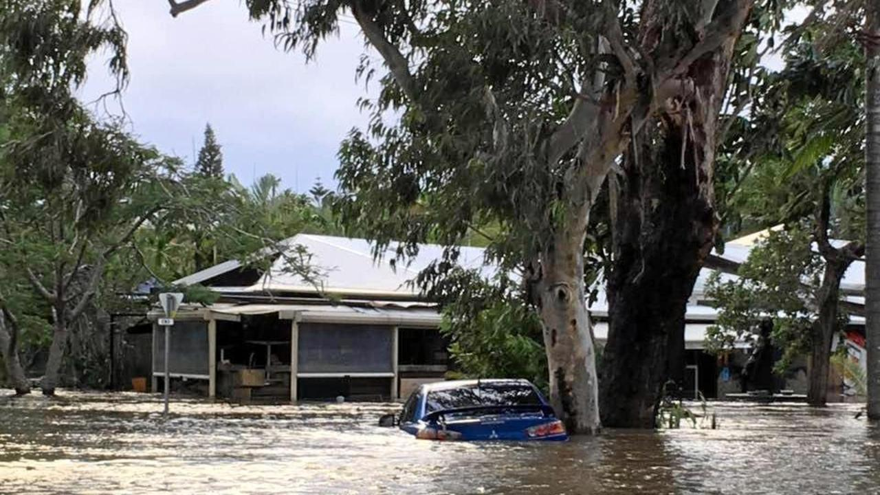 The funding will help the community be better prepared for future disasters, after Ocean Shores was hit hard with flooding and inundation by Cyclone Debbie in 2017. File Photo.