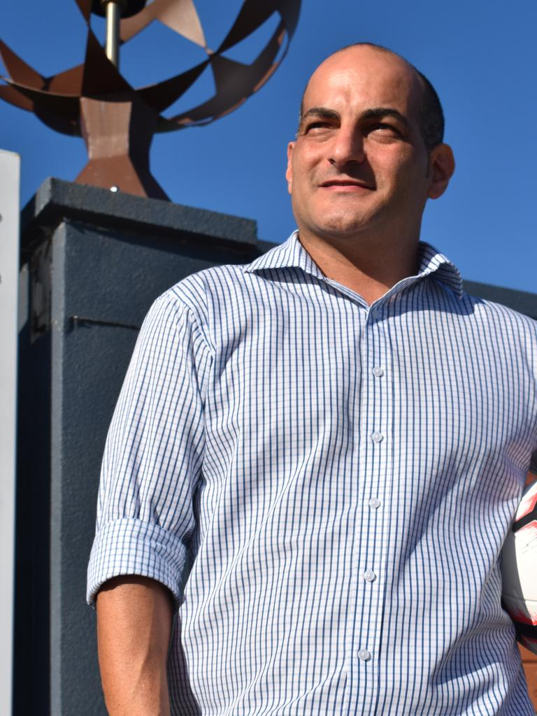 Mackay Regional Football Zone general manager Anthony Nobilia.