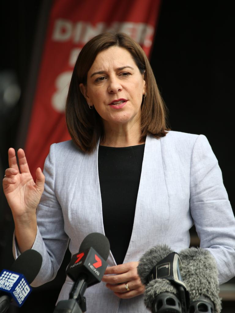 LNP Leader Deb Frecklington. Picture: Glenn Hampson