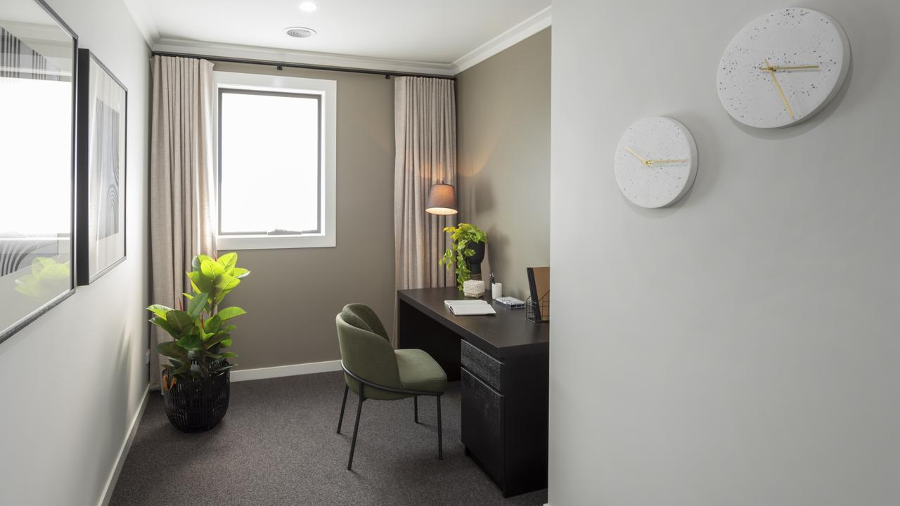A separate room for your home office will give you more privacy and clarity of mind.