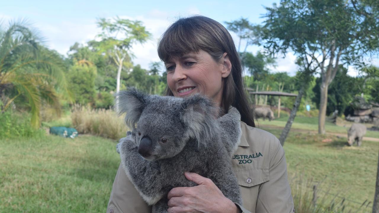 Australia Zoo's Terri Irwin.