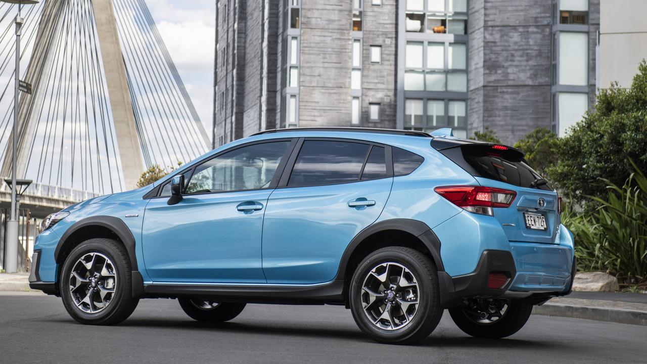 The XV is a good thing, but the hybrid set-up provides very little increase in fuel efficiency.