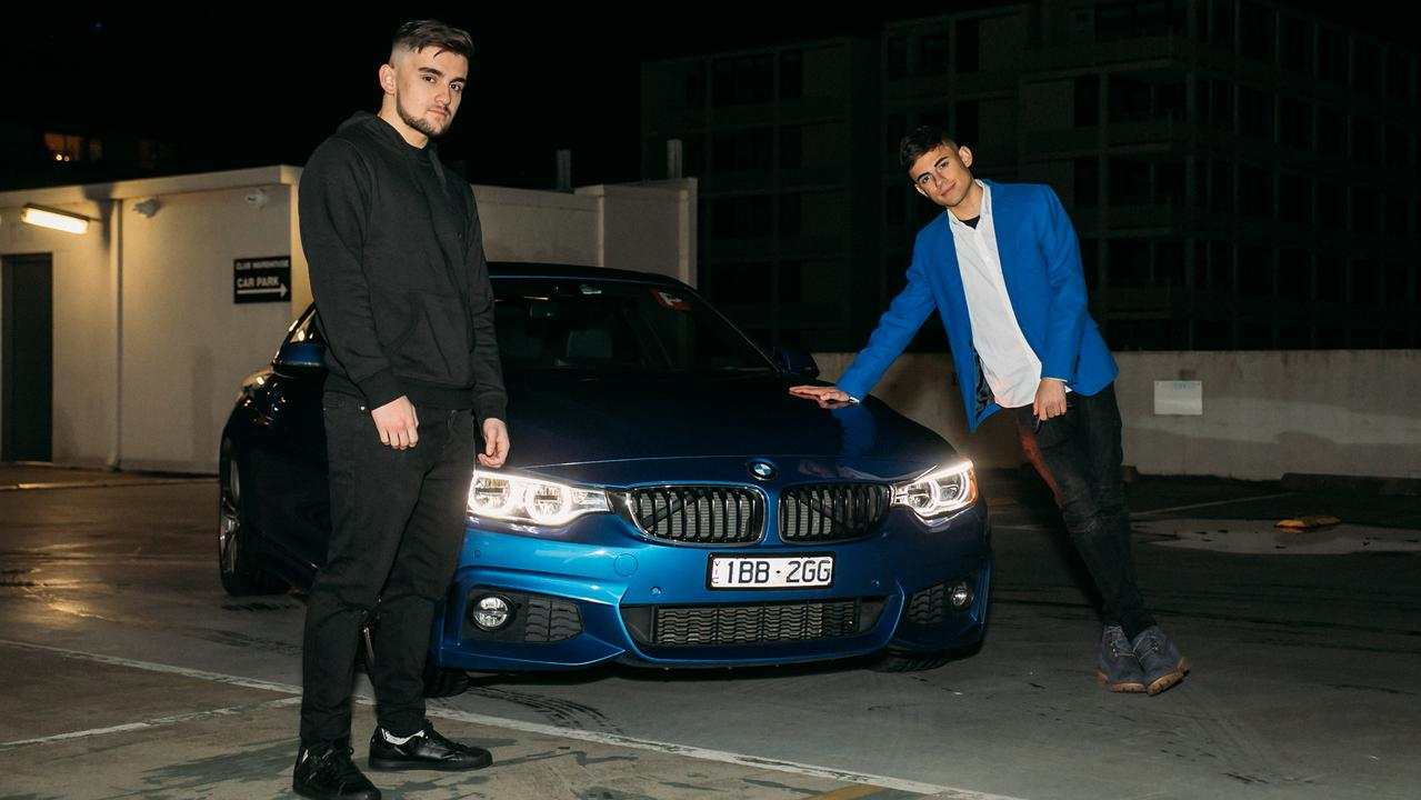 Victorian teens Fotios Tsiouklas and Alan Gokoglu run several businesses in fields ranging from app development to social media. Picture: Supplied