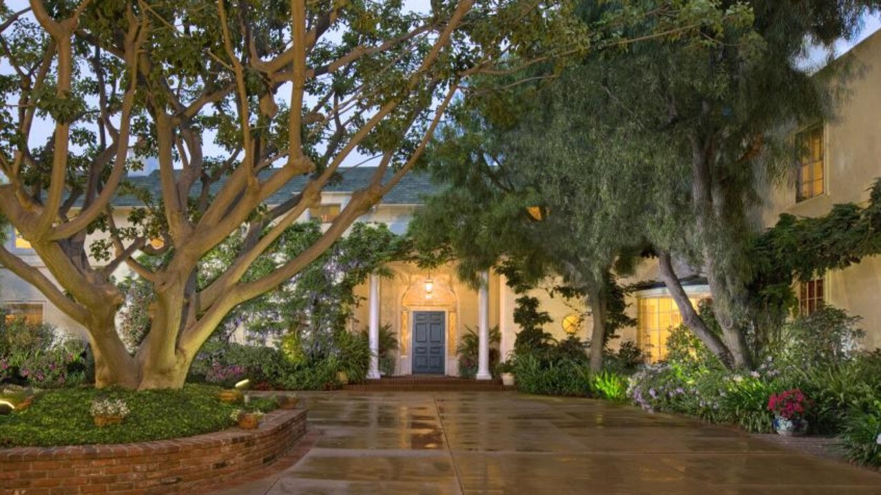 The crown jewel of her collection is the Samuel Goldwyn mansion in Beverly Hills. Picture: TopTenRealEstateDeals