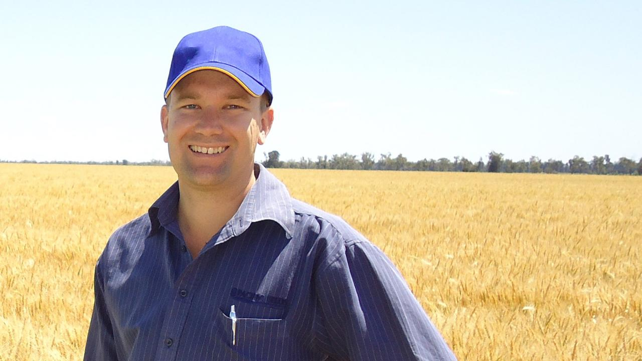 PROMISING: Andrew Short from Pacific Seeds said with above average rainfall predicted in winter, it's good news for growers.