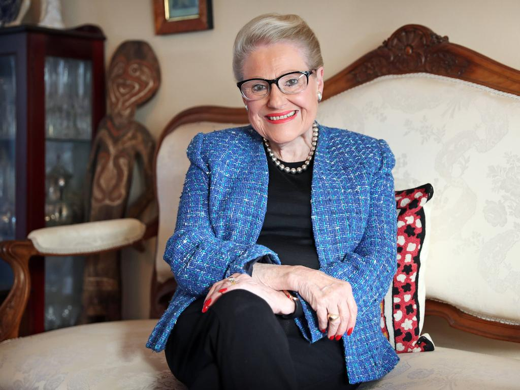 Bronwyn Bishop was honoured with an Officer of the Order (AO) in the Queen's Birthday Honours for distinguished service to the parliament of Australia, the people of New South Wales, to women in politics. Picture: Tim Hunter
