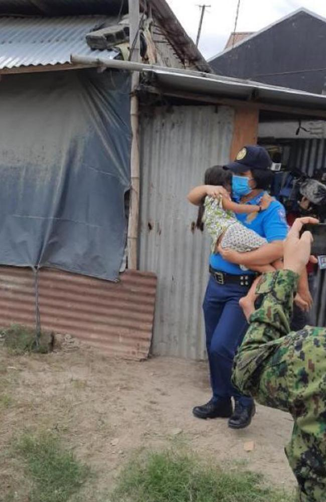 Children linked to sex abuse operations have been rescued in the Philippines. Picture: Supplied