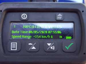 74KM/H OVER: Clarence police stop speeding bike