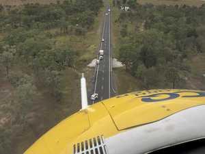 Newborn bub killed in Central Queensland Bruce Highway smash
