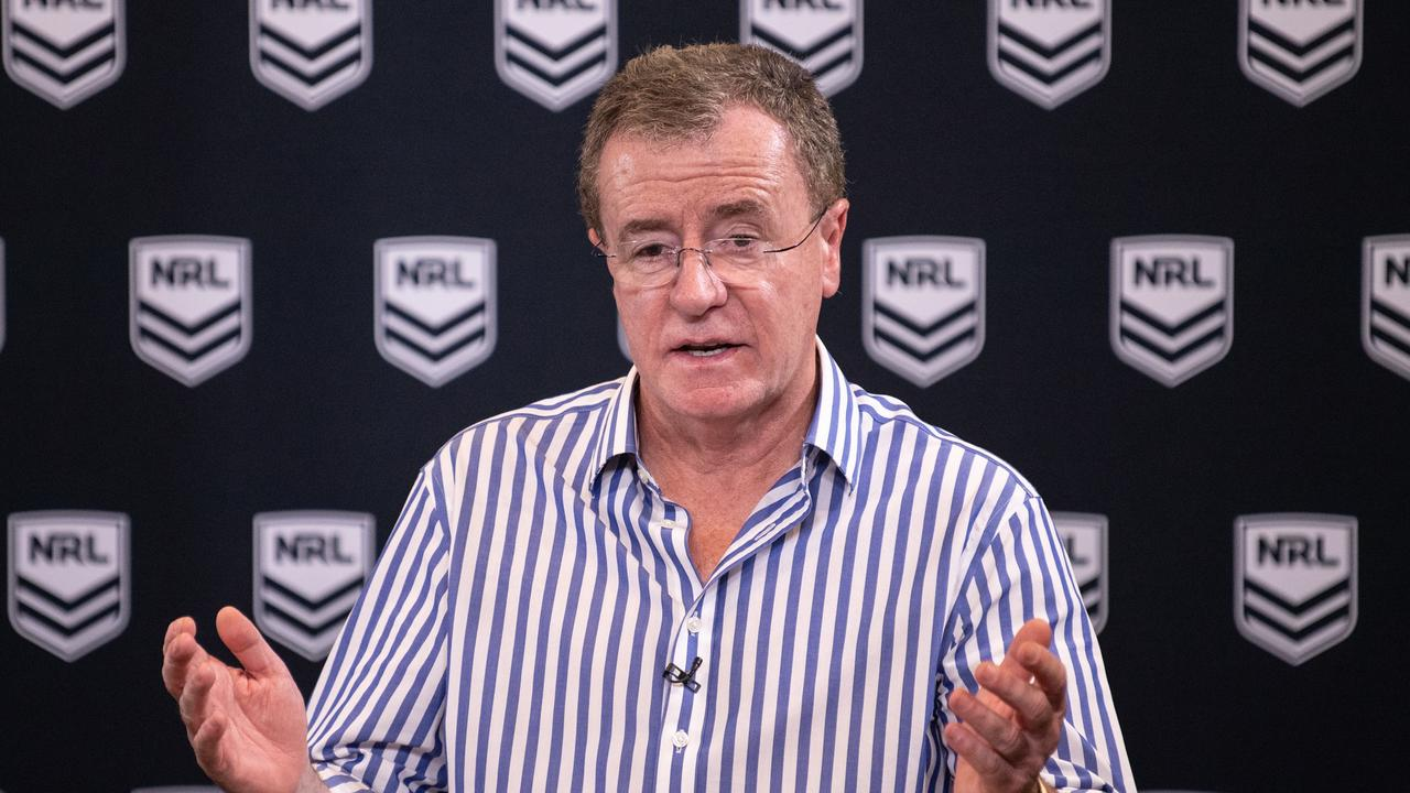 NRL Head of Football Graham Annesley is open to change. Picture: AAP
