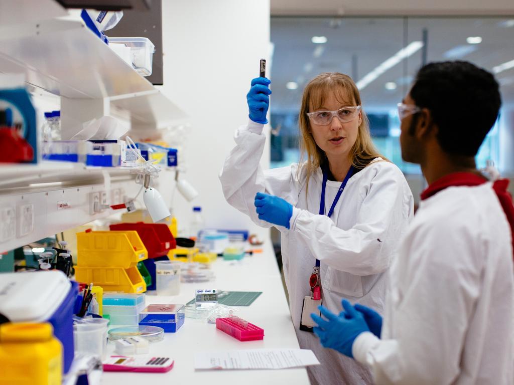 Associate Professor Simone Schoenwaelder of the Thrombosis Heart Research Institute.