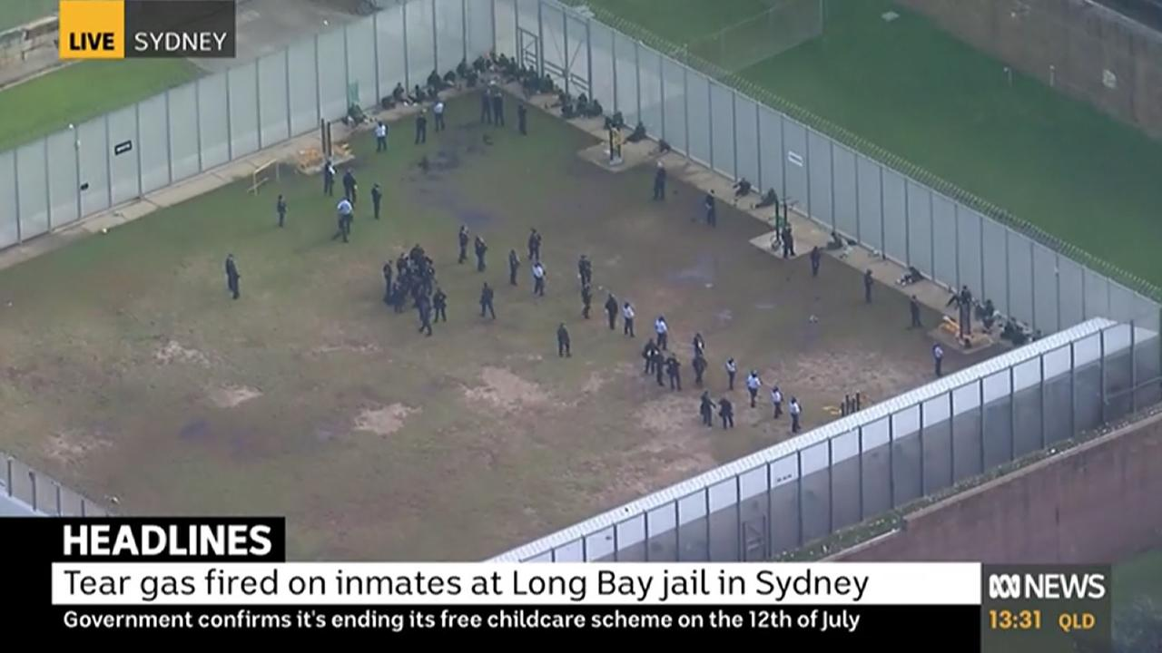 An incident is unfolding at a jail in Sydney's southeastern suburbs. Picture: ABC