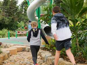 Playground's new look draws families to town