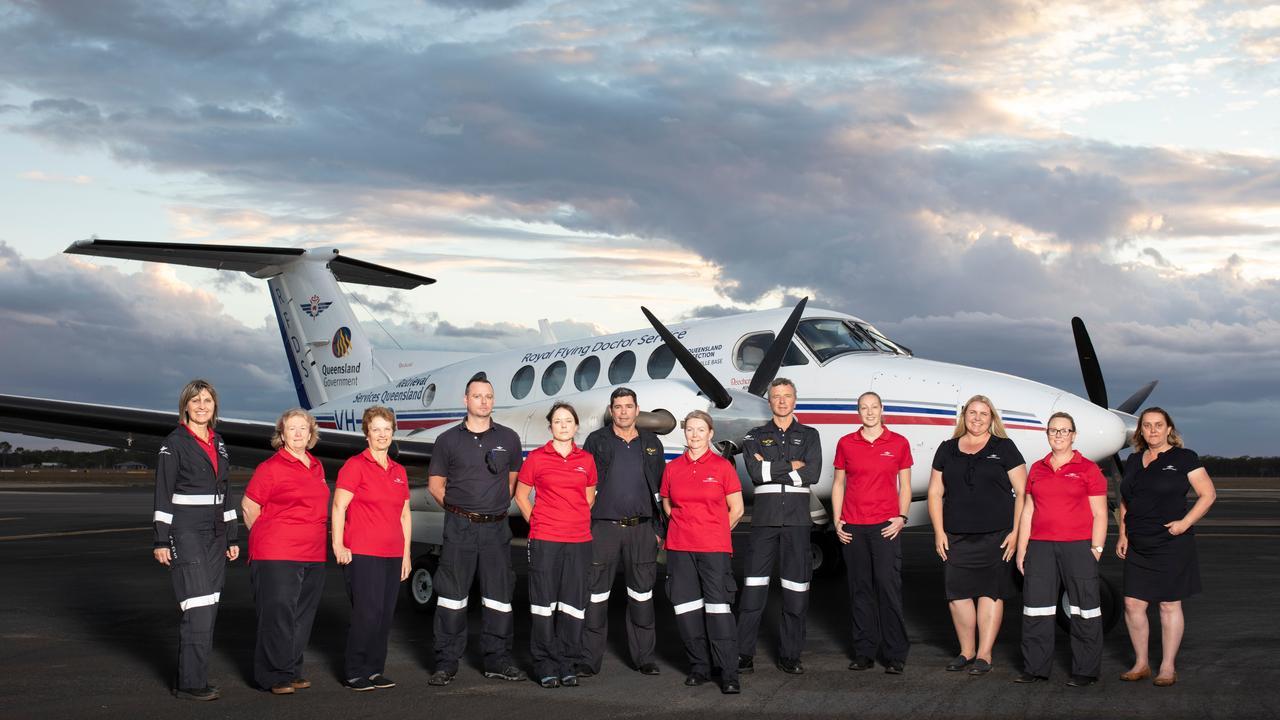 GUARDIAN ANGELS: The Bundaberg Royal Flying Doctor Service Team.