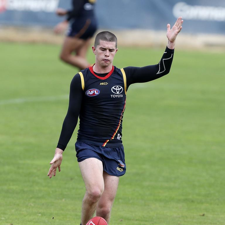 Ned McHenry is in the frame for a Crows debut. Picture: Sarah Reed