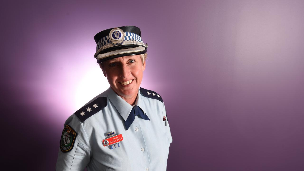 INspector NIcole Bruce at the Lismore Police Station. Photo Marc Stapelberg / The Northern Star