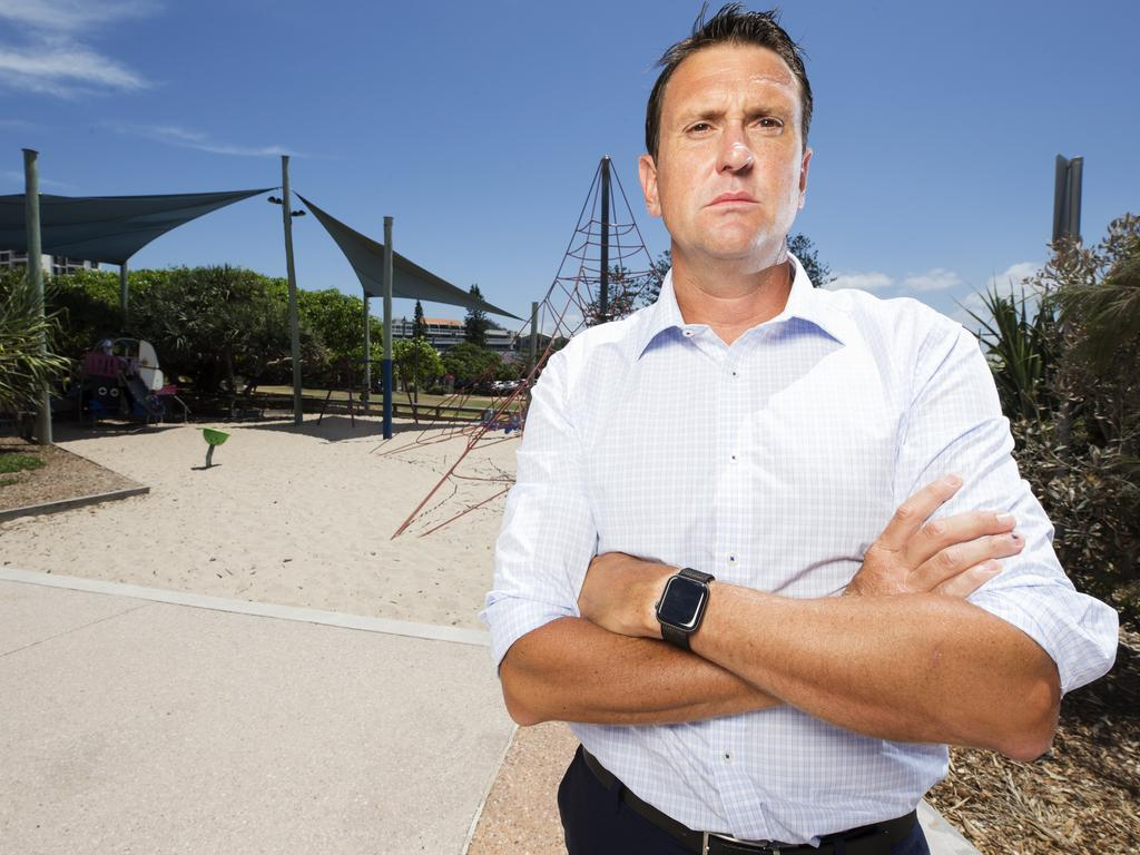 Liberal MP for Ninderry and new shadow police minister Dan Purdie said the Sunshine Coast's population growth demanded more police. Photo Lachie Millard