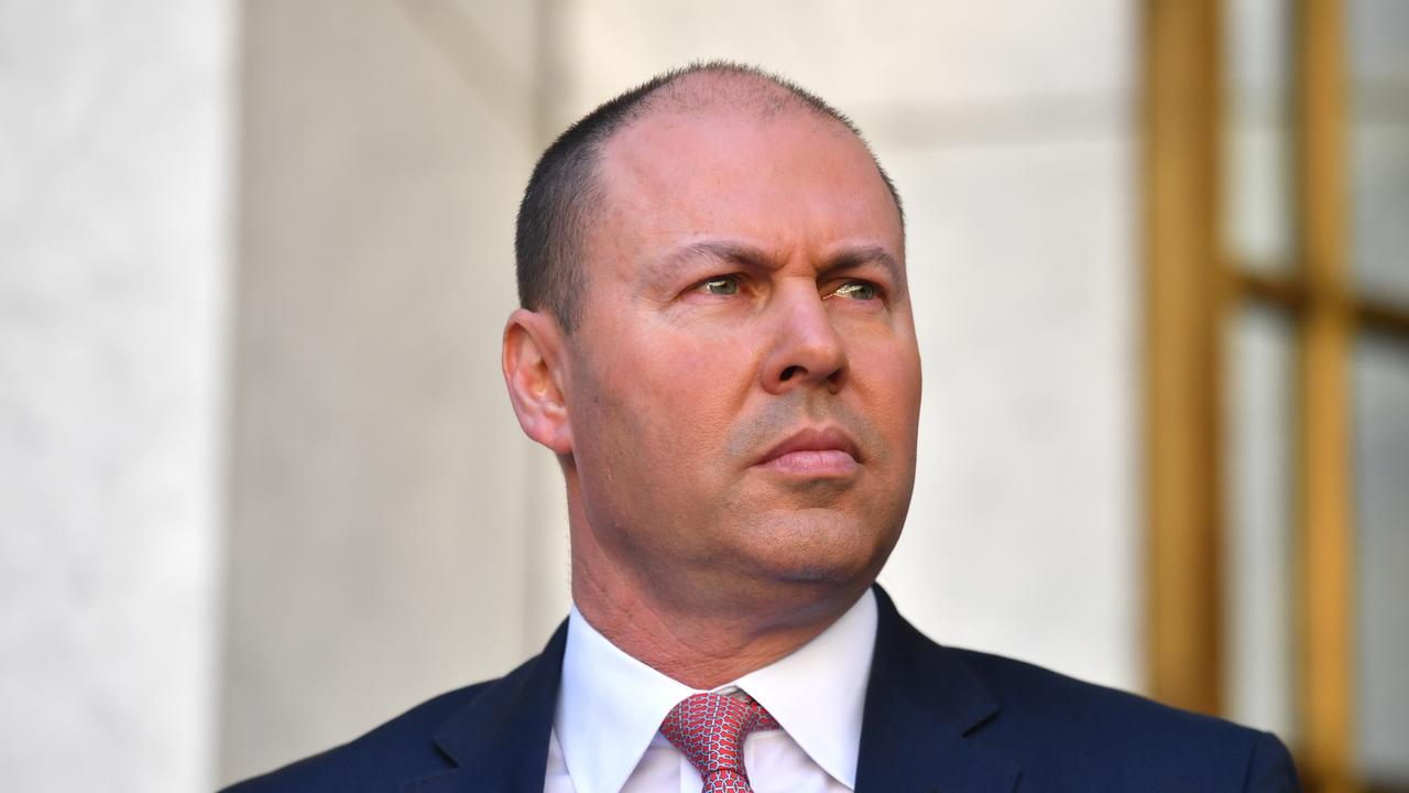 Treasurer Josh Frydenberg will announce an extension of the $150,000 instant asset write-off today. Picture: AAP Image/Mick Tsikas