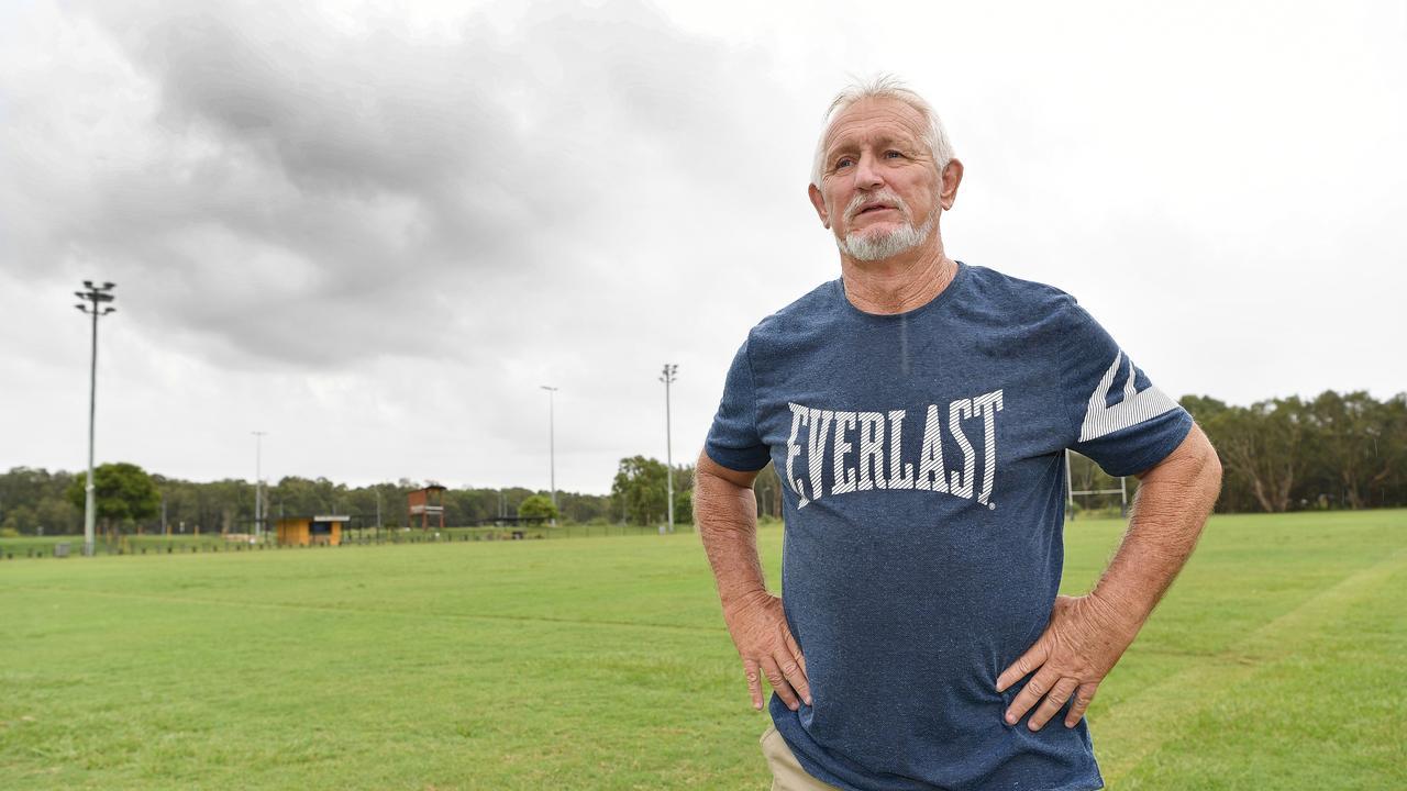RUGBY LEAGUE: Caloundra Sharks coach Lionel McDonald. Photo Patrick Woods / Sunshine Coast Daily.