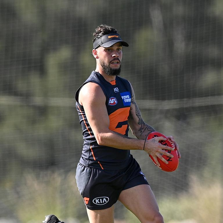 Zac Williams is set to be a notable in for the Giants. Picture: AAP Image/Dan Himbrechts