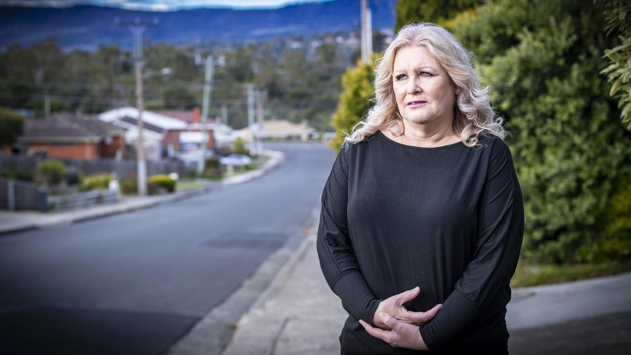 Andrea Russell of Austins Ferry has spent more than two years battling with Centrelink over a robodebt notice. Picture: LUKE BOWDEN