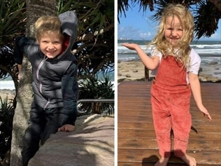 a six-year-old boy and a four-year-old girl missing from Qld