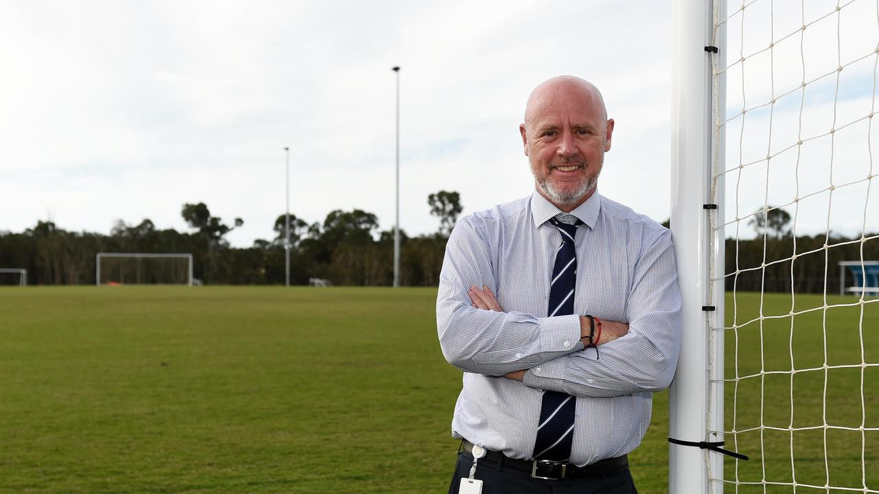 WATER PLANS: Deputy Mayor Darren Everard at the Fraser Coast Sports Precinct, which will soon receive a water main for recycled water irrigation.