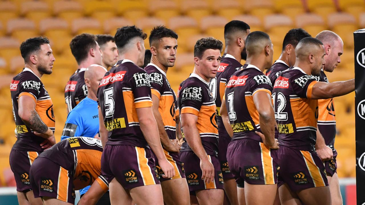 The Broncos were humiliated on the field – and have copped it from past players in the days since. Picture: AAP