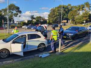 Police pursuit at Coffs Harbour