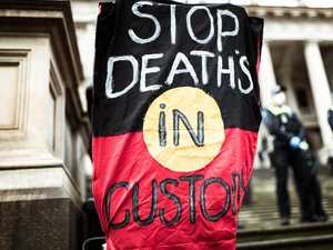 Aboriginal man cops it over protest 'myth'