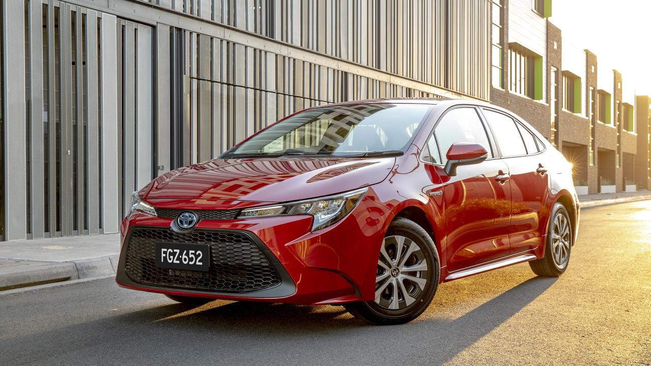 The 2020 Toyota Corolla Hybrid Sedan starts from less than $30,000 drive-away.