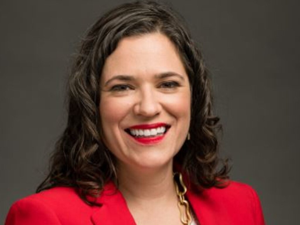 Minneapolis City Council President Lisa Bender, who advocates a 'police-free' society. Picture: Supplied