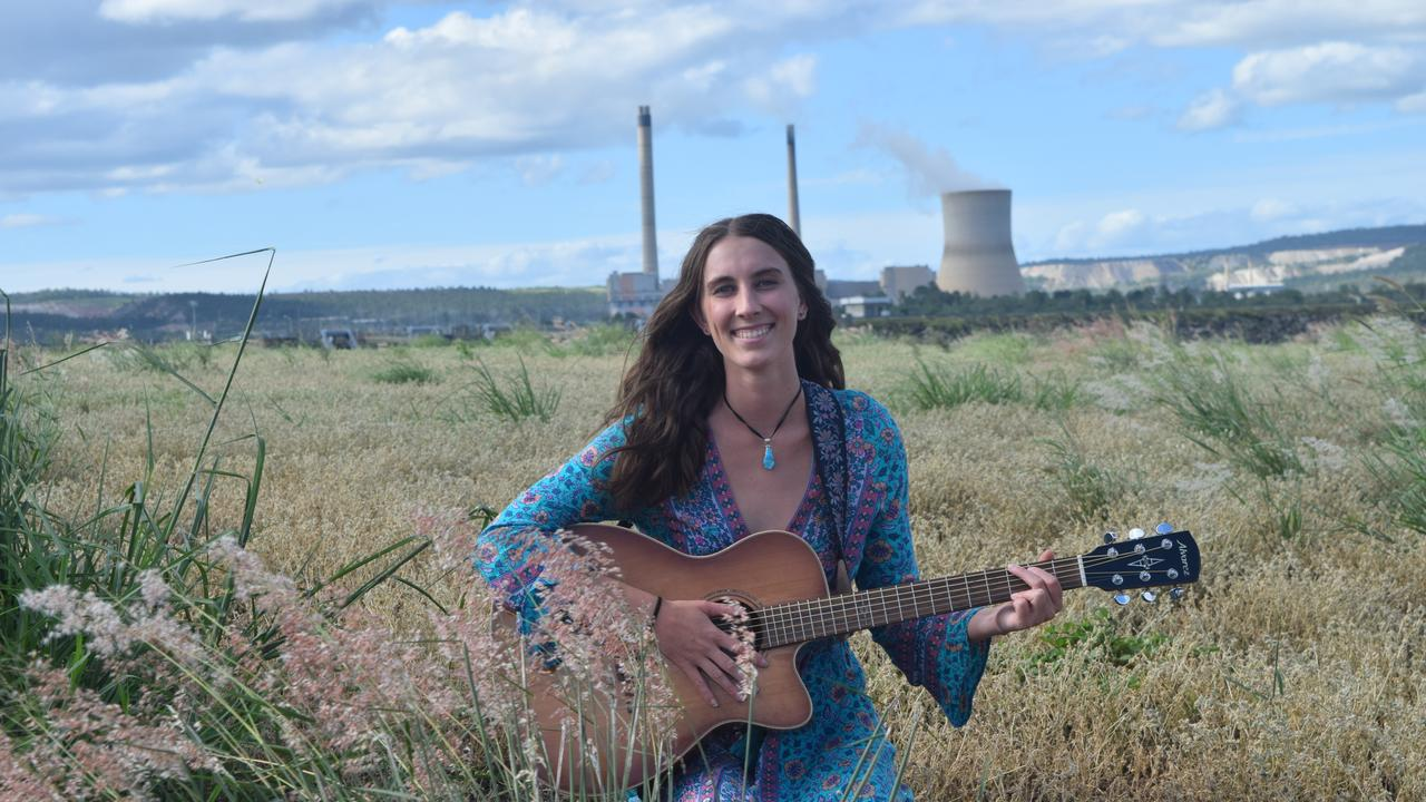 ROLLING ALONG: Baralaba singer songwriter Camille Trail wants to make the most of a COVID impacted 2020.