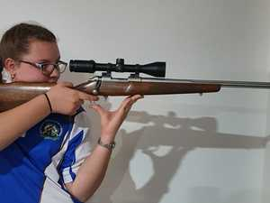Gladstone girl shooting for the stars