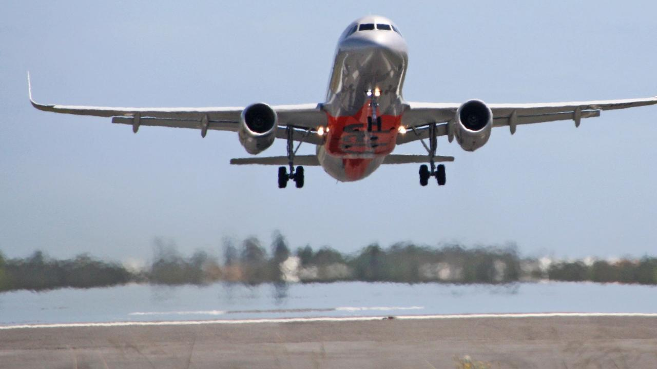 CLOSE CALL: A Jetstar jet and private charter plane had a near miss.
