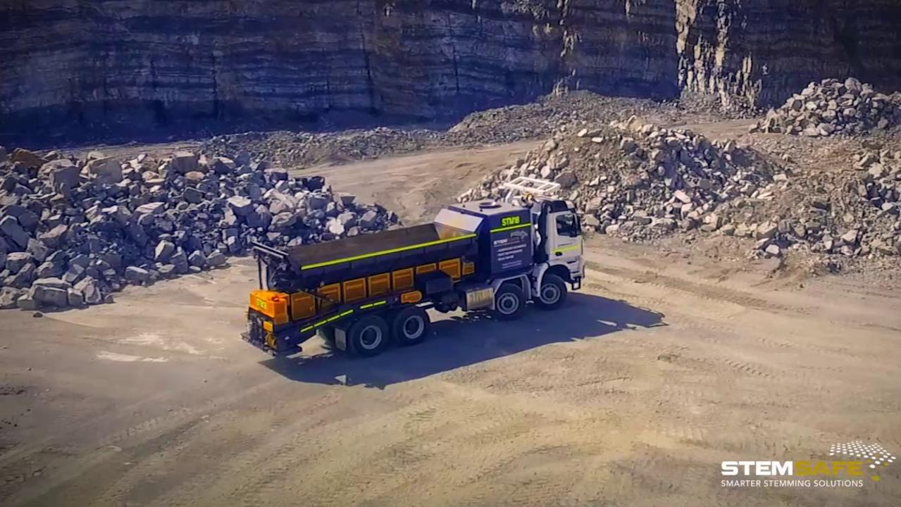 Paget-based company StemSafe has designed the first type of aggregate stemming trucks, which can also be used as water trucks.