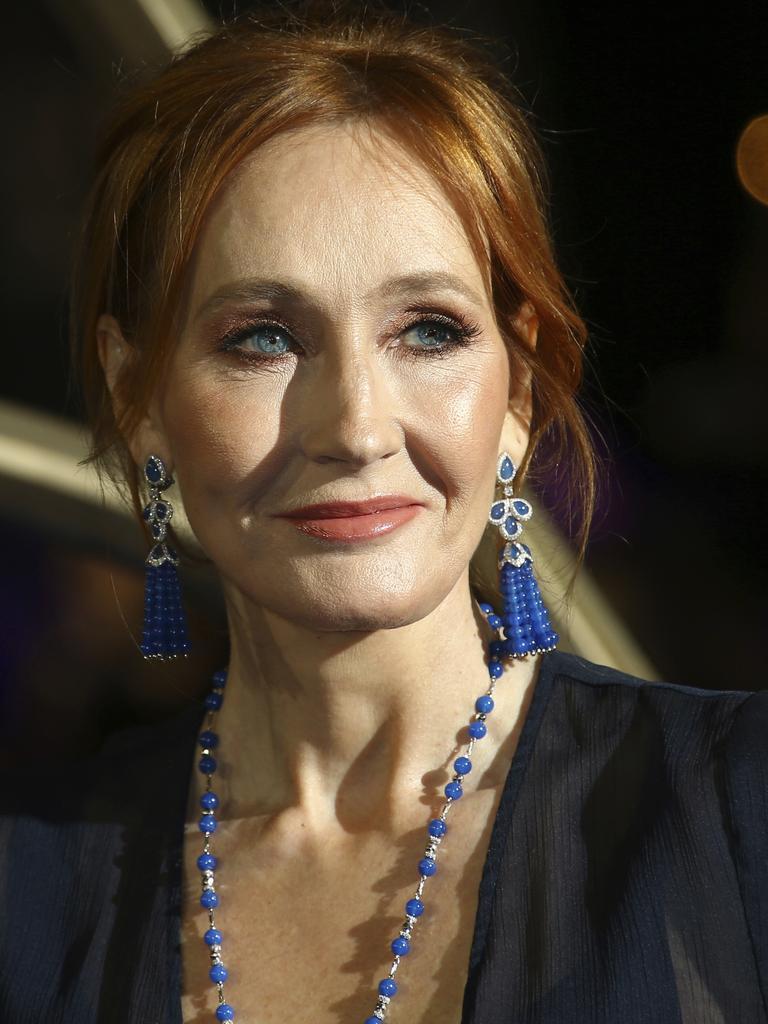J.K. Rowling. Picture: Joel C Ryan/Invision/AP