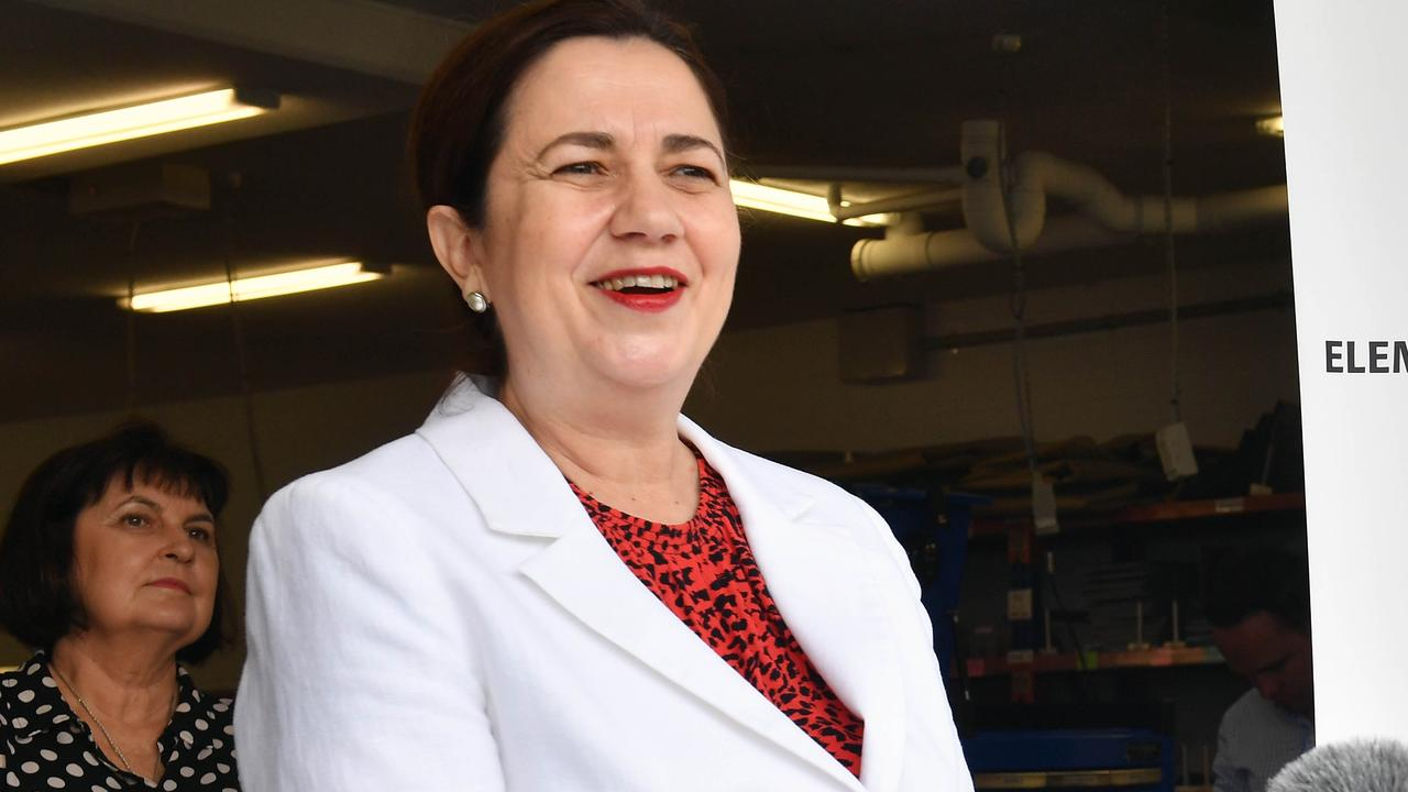 Premier Annastacia Palaszczuk appears to be at odds with her own lawyers about the impact of her border closures on the Queensland businesses. Picture: Tony Martin