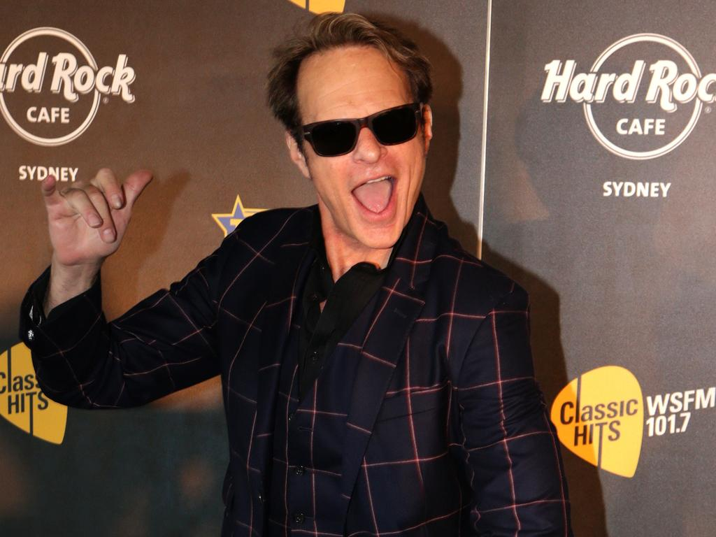 David Lee Roth plays up to the cameras. Picture: Supplied
